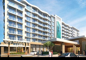 Pacific City hotel rendering: project next to UDR apartment site