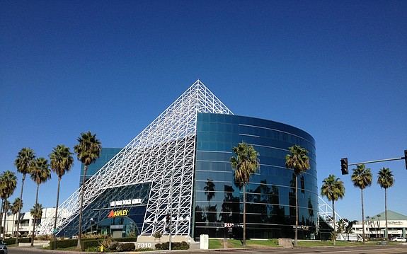 The Pyramid Building -- Photo courtesy of Voit Real Estate Services