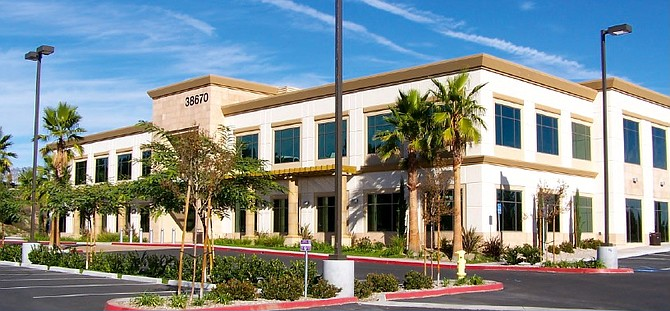 SR Commemrcial is the new owner of this office building on Sky Canyon Drive in Murrieta. (Photo courtesy of SR Commercial)