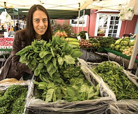 Fresh: Jennifer Piette, of Out of the Box Collective, at Calabasas Farmers Market.