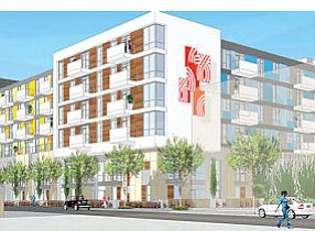 Creative: Rendering of planned Glendale Arts Colony by Meta Housing Corp.