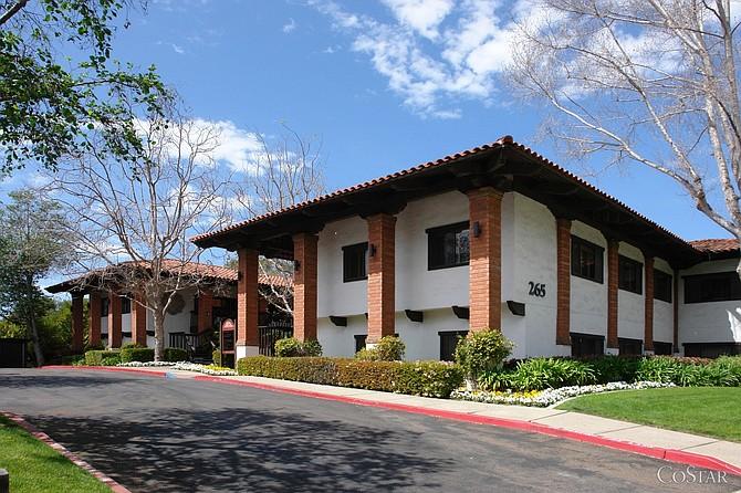 The Financial Building at 265 Santa Helena in Solana Beach (Photo courtesy of CoStar Group).