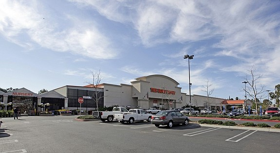 Home Depot Plaza in Escondido (photo courtesy of HFF Inc.)