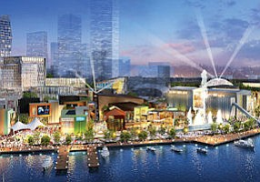 Glendale: DreamWorks Animation unveiled plans for its Shanghai resort.
