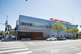 Local Landmark: Real Office Centers' co-working space in Santa Monica.