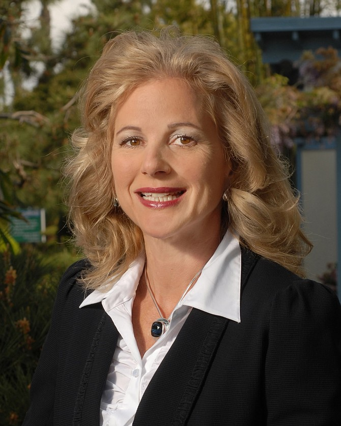 Marilyn Hannes, vice president of marketing for SeaWorld San Diego and SeaWorld's Aquatica (photo courtesy of SeaWorld San Diego)