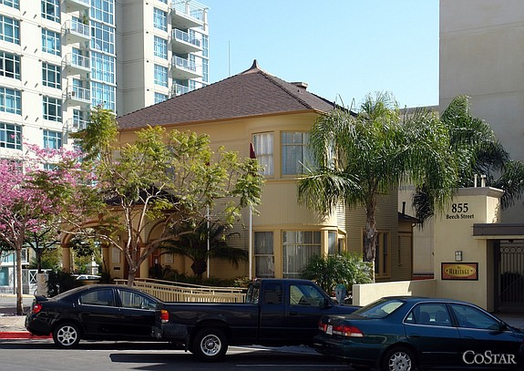 The Heritage, 1471 Eighth Ave in San Diego -- Photo courtesy of CoStar Group