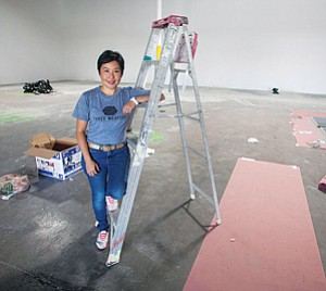 Moving In: Lynne Weaver at Three Weavers.
