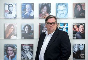 New Chapter: Charles B. Slocum at WGAW in L.A.'s Fairfax District.