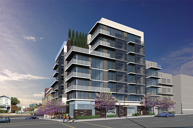 The Corky Mcmillin Cos Of San Go Recently Purchased A Property In Little Italy For 5 3 Million With Plans To Develop New Upscale 100 Unit Apartment
