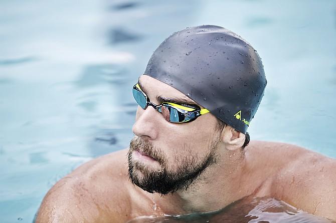 Michael Phelps -- photo courtesy of Aqua Sphere