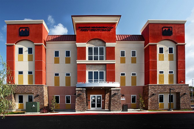 The Diamond Neighborhoods Family Health Center (photo courtesy of Bill Robinson Photography, Suffolk Construction)