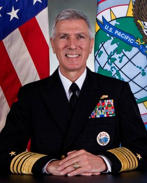 Adm. Samuel Locklear III  -- photo courtesy of U.S. Navy