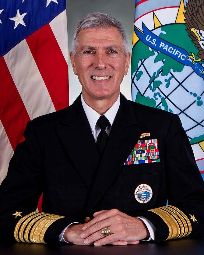Adm. Samuel Locklear III  -- photo courtesy of U.S. Navy