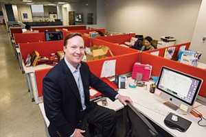 New Image: Chief Exec Stuart McLean at Content & Co.'s West L.A. office.