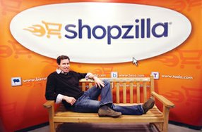 Fine Where He Is: Chief Executive Bill Glass at the West L.A. office of online shopping firm Shopzilla in a 2011 photo.