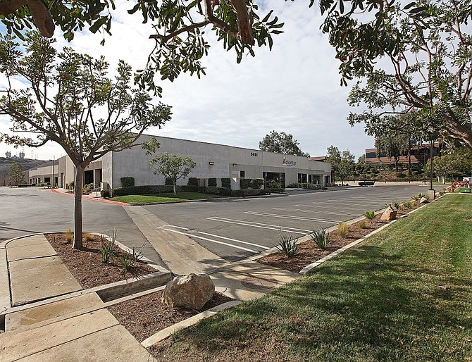 5451 Oberlin Drive -- Photo courtesy of CBRE Group Inc.