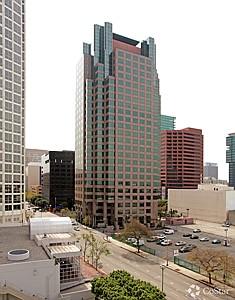 Towering: 801 S. Figueroa St. building.