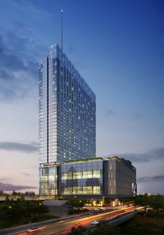 The planned Fairmont Austin Hotel – Rendering courtesy of Manchester Texas Financial Group