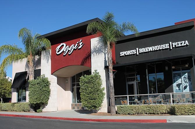 The new Oggi's at 425 S. Melrose Drive in Vista – Photo courtesy of Oggi's