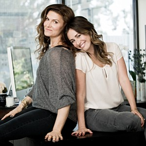 Jodi Guber Brufsky and Michelle Wahler, courtesy of Beyond Yoga
