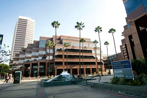 Holding Auditions: Wilshire Courtyard campus on Miracle Mile.