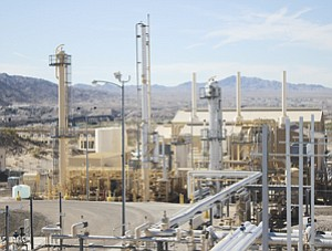 Running: Applied LNG's Topock, Ariz. facility. It has started work on a second one near Dallas.