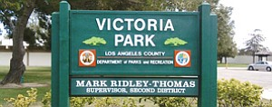 Game On?: Victoria Park and golf course in Carson.