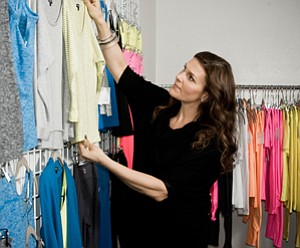 Jodi Guber Brufsky, chairwoman and chief creative officer of Culver City clothing line Beyond Yoga.