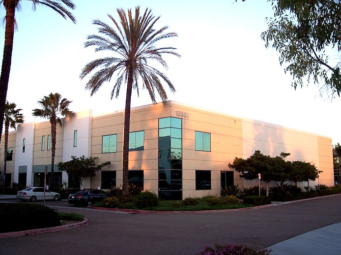 13880 Stowe Drive, Poway -- Photo courtesy of Pacific Coast Commercial