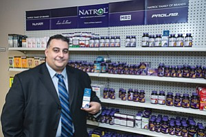 In Charge: Natrol CEO Khoudagoulian.
