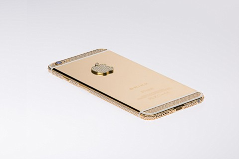 Brikk's luxury iPhone 6 cases begin at $42,995. (Brikk)