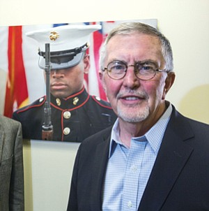 Image Revival: Doug Dowie at client United States Veterans Initiative in downtown L.A.