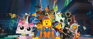 Blockbuster: Scene from Warner Bros.' 'The Lego Movie,' which was able to draw upon a range of pop-culture characters.