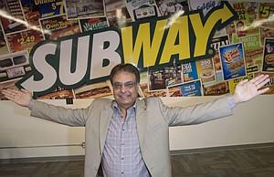 Breadwinner: Hardeep Grewal at OhCal Foods' headquarters in Woodland Hills.