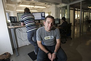 In Comparison: Doug Hirsch at shopping site GoodRx's office in Santa Monica.