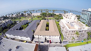 Purchased: Multifamily property at 615-17 Ocean Ave., center, picked up by All West Holdings for $15.6 million.