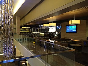 Lounge at the new Cinemark Playa Vista and XD movie theater.