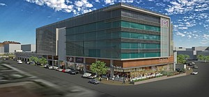 Overflow Zone: Rendering of Stockdale Capital Partners' Marquee at the District.