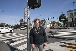 Intersection of Interests: Downtown Santa Monica's Kathleen Rawson at Santa Monica and Lincoln boulevards