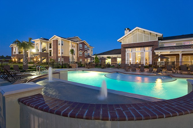 This Houston complex was among 12 apartment properties in three states acquired by Strata Equity Group of San Diego -- Photo courtesy of Strata Equity Group Inc.