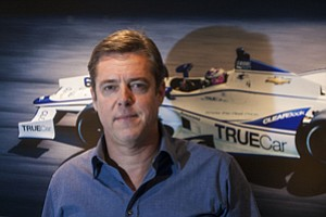 Driven: Chief Executive Scott Painter at TrueCar's Santa Monica headquarters.