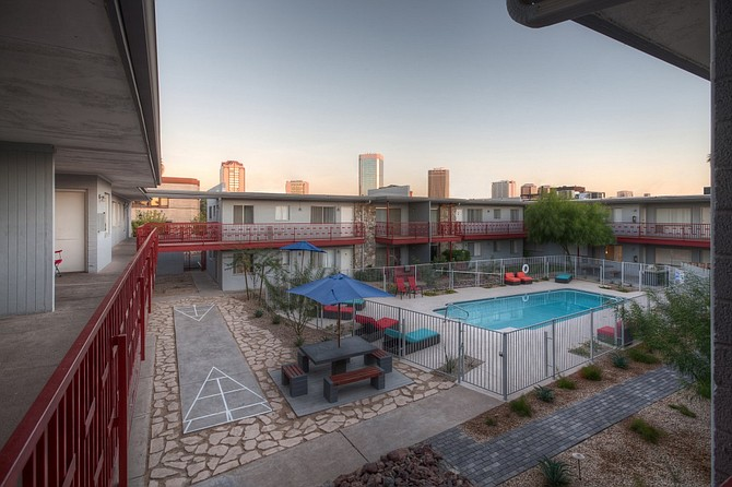 Aura Apartments in Phoenix -- Photo courtesy of Pathfinder Partners