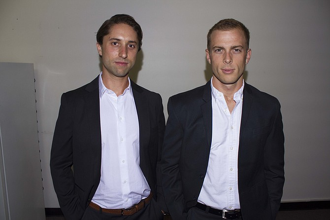 TaskUs co-founders Jaspar Weir and Bryce Maddock