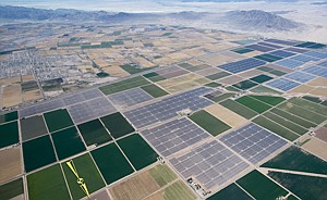 Hot Property: Mount Signal solar farm.