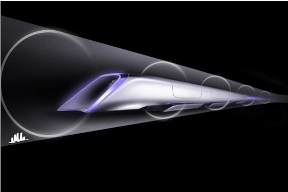 Hyperloop conceptual rendering