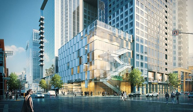 7th & Market – Rendering courtesy of Cisterra Development