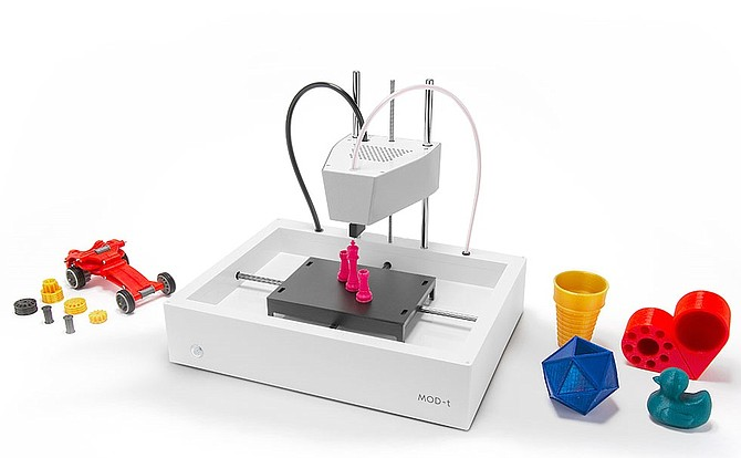 New Matter's MOD-t 3-D Printer