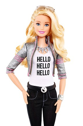 Blond Ambition: Mattel's Barbie doll, which is getting its first live-action movie treatment.