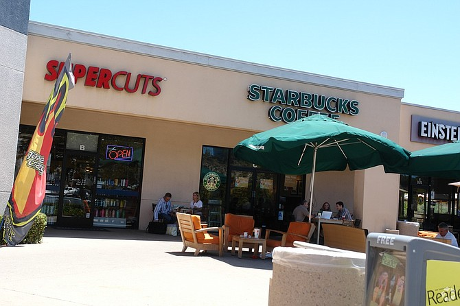 Local retail centers in the deal included Stonecrest Plaza on Murphy Canyon Road in San Diego. -- Photo courtesy of CoStar Group